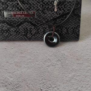 Hematite Donut Necklace
