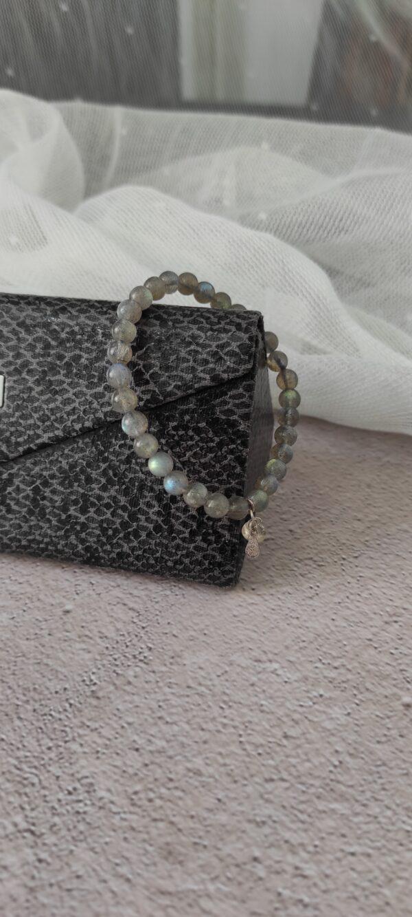 Flash Labradorite Bracelet 6.5mm