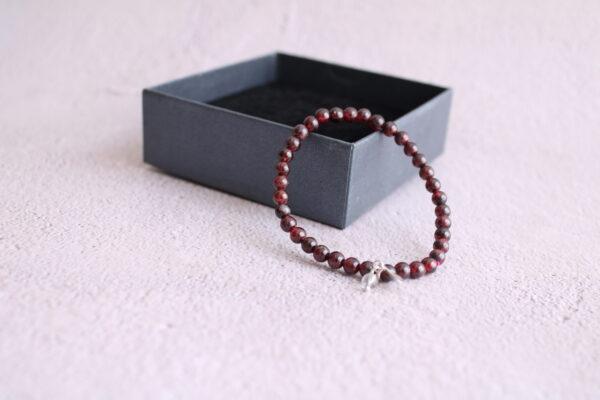Burgundy Garnet Bracelet
