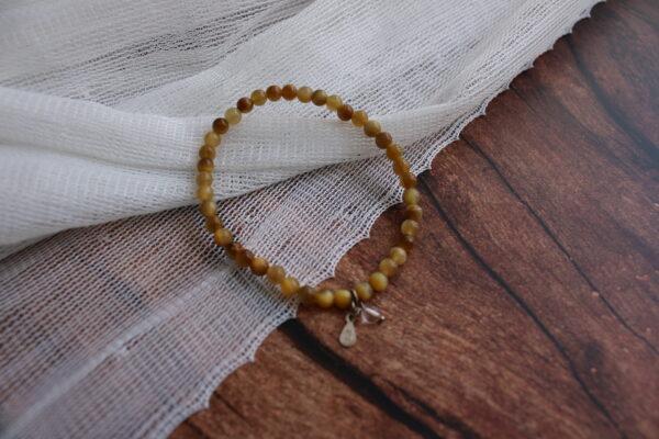 Golden Tiger Eye Bracelet 4mm