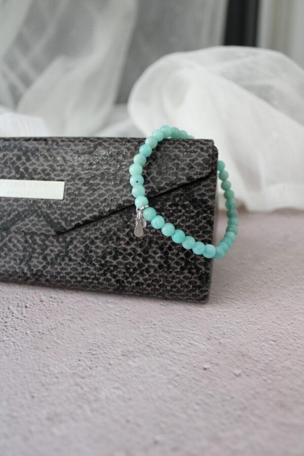 Green Amazonite Bracelet