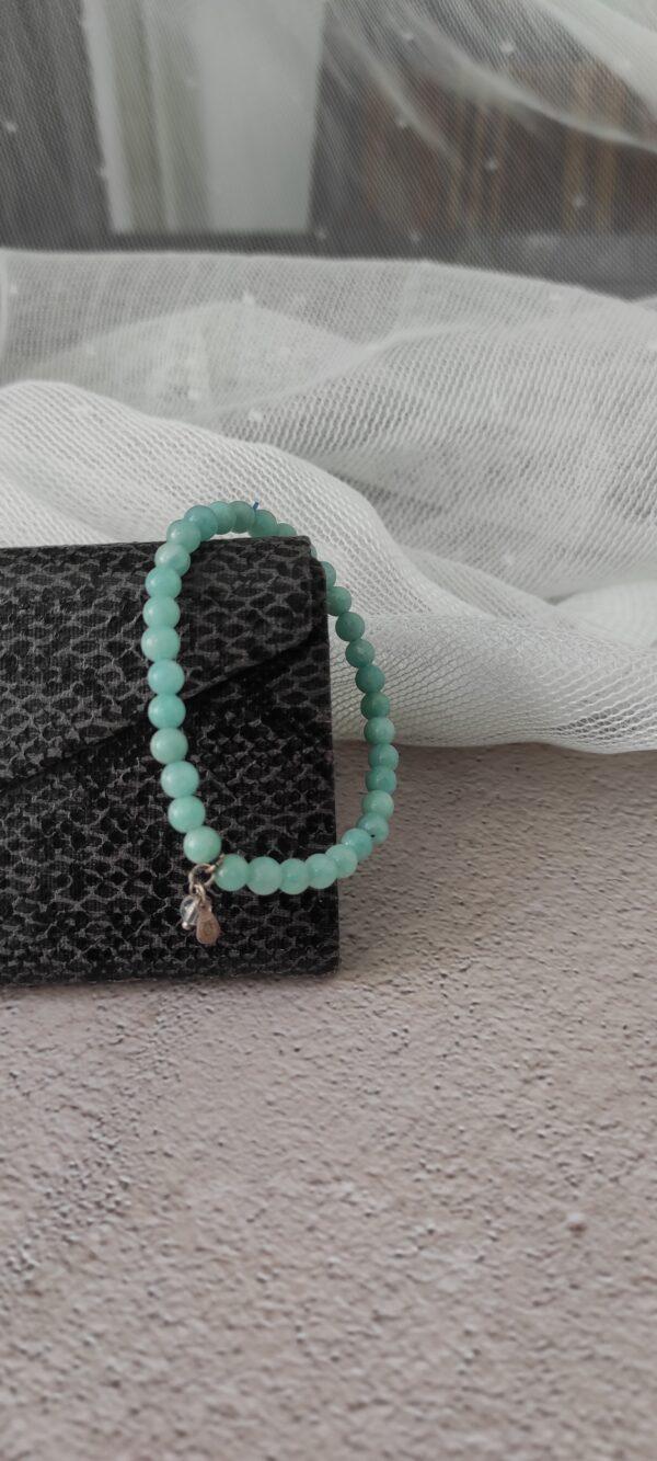 Green Amazonite Bracelet 4mm