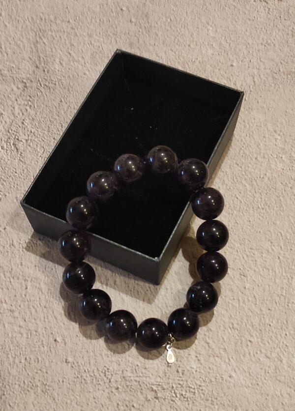 Dark Amethyst Bracelet 14mm