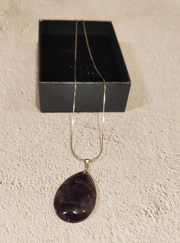 Dark Amethyst necklace